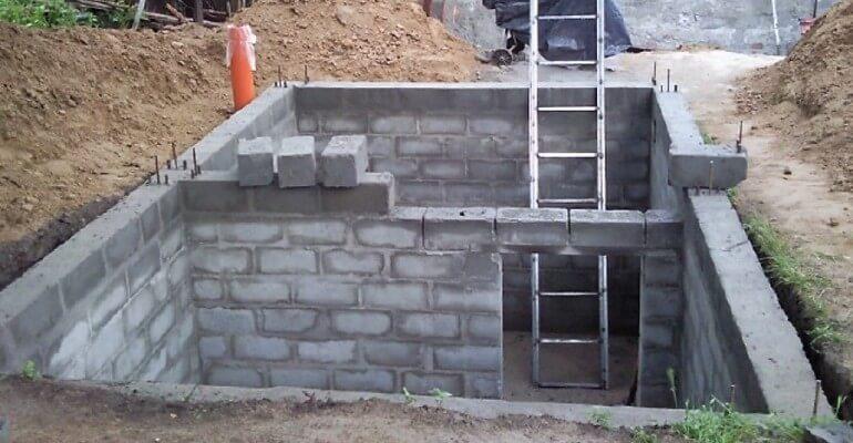 Армопояс для будинку з шлакоблоку