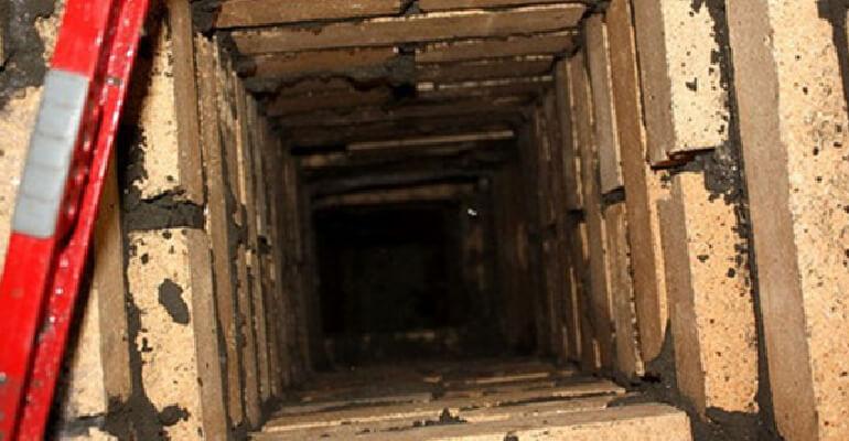 Фото 4. Дымоход для твердотопливного котла из кирпича