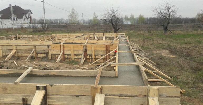 Сооружение фундамента под панельный дом