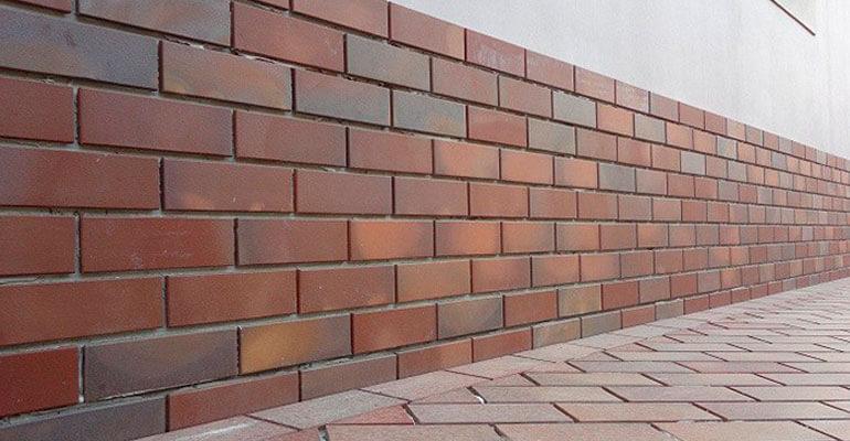 Фундамент клинкерный камень