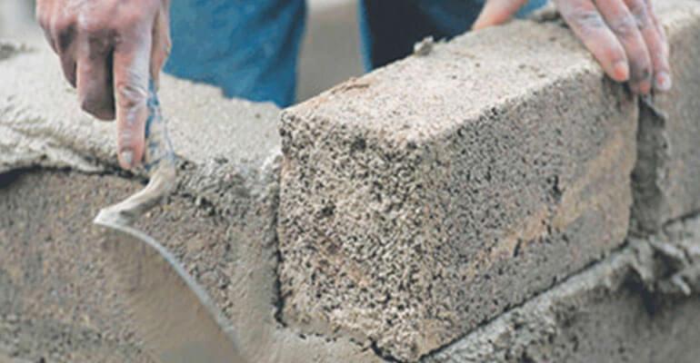 Фото 5. Використання глиноземного цементу в домашньому будівництві