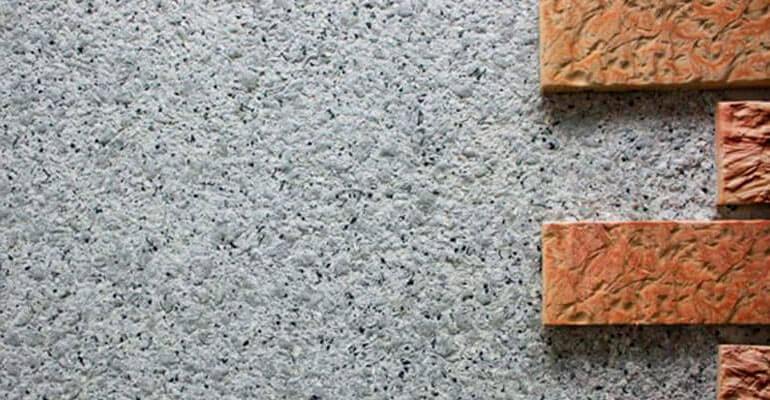 Фото 4. Каменная монолитная штукатурка