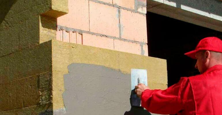 Утепление стен из керамоблока