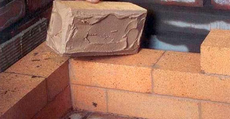 Раствор для кладки печей и каминов - какой выбрать