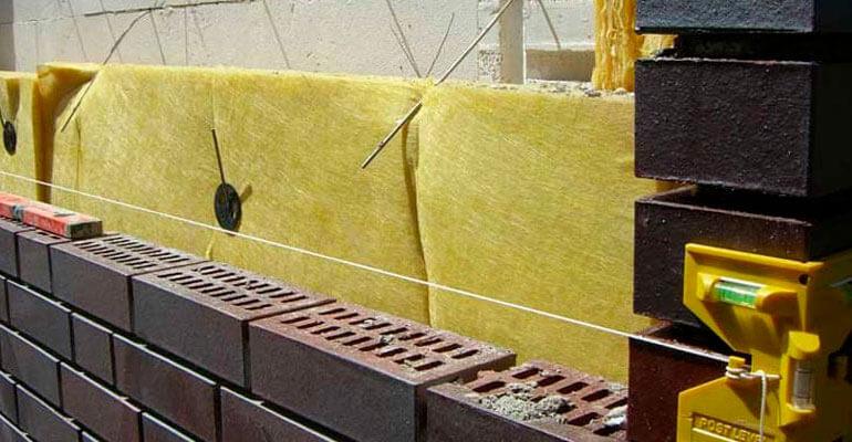 Фото 3. Технология кладки клинкерного кирпича