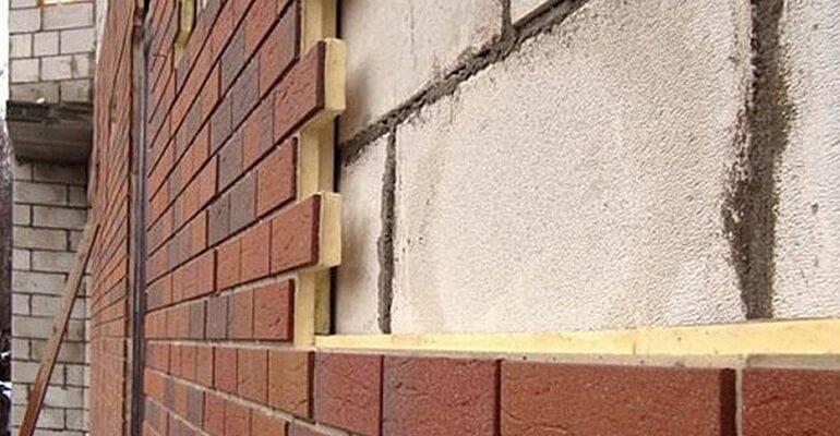 Клінкерні панелі для облицювання газобетону
