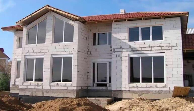 Строительство дома из газоблока (газобетона)