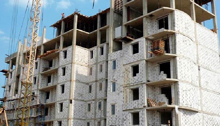 БСтроительство высокоэтажных домов из газобетона