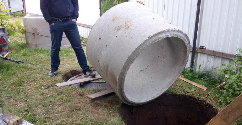 Монтаж бетонних кілець