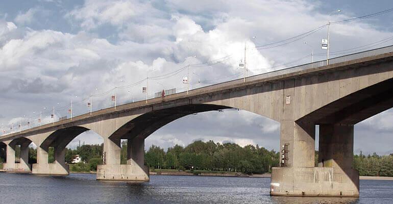 Фото 7. Опоры мостов из бетона