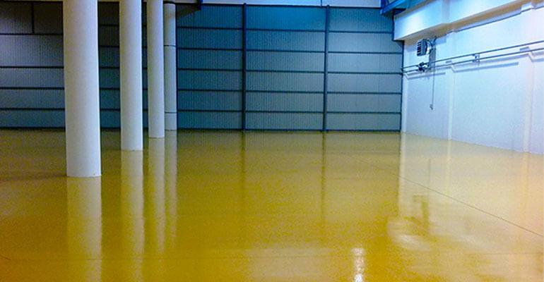 Фото 4. Фарбувальні підлоги