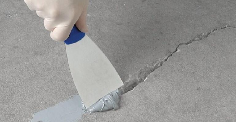 Використання ремонтної суміші