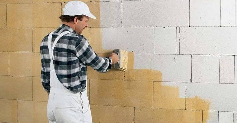 Штукатурка стін з газобетону