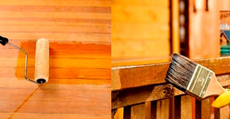 Фото 2. Види антисептиків для деревини