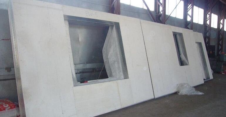 Стеновая железобетонная панель