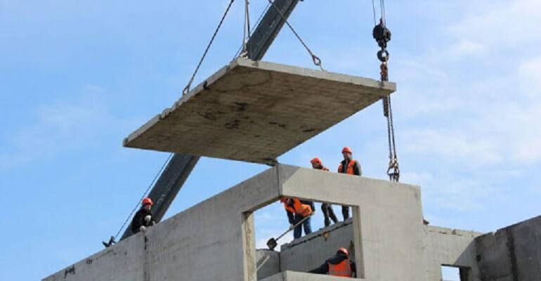 Строительство стен из панелей