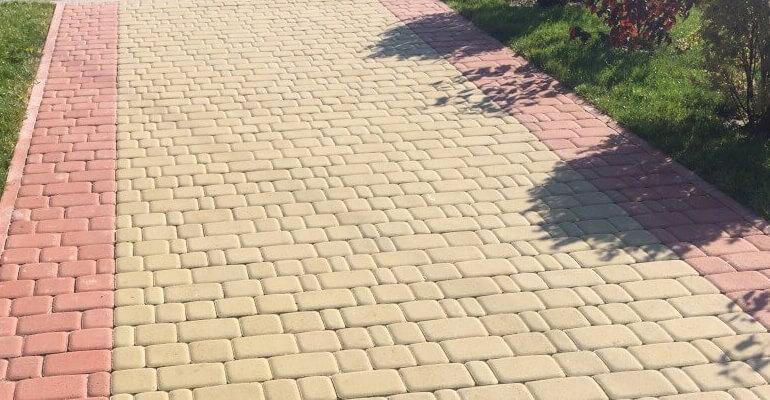 Швы для тротуарной плитки и брусчатки