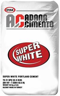 Купить белый цемент Adana