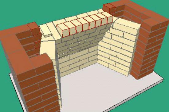 Как построить простой камин