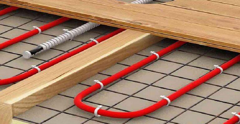 Тепла підлога з електропідігрівом