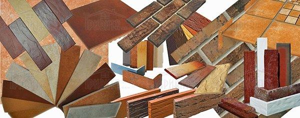Фото 6. Производители клинкерной плитки