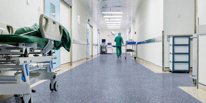 Фото 1. Линолеум для медицинских учреждений