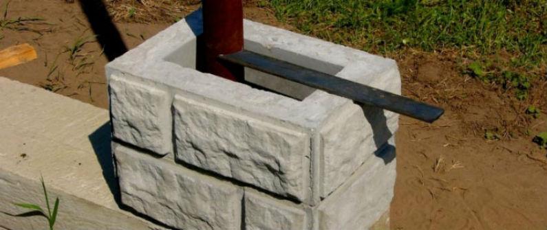 цементно песчаная смесь для столбов