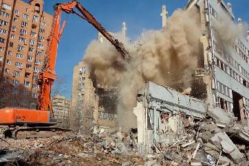 Демонтаж будинків