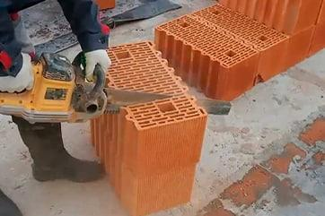Різка великоформатних блоків